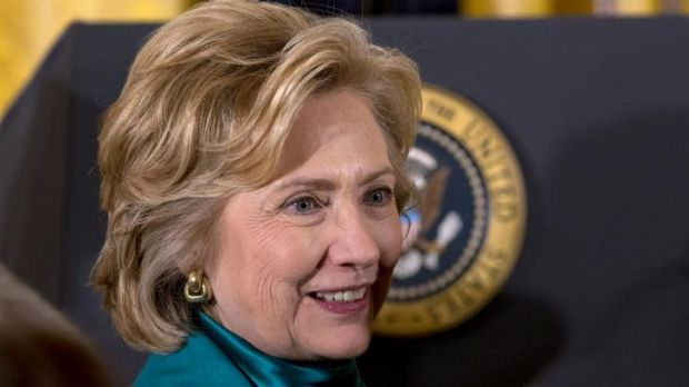 Next US President? Hillary Clinton has secured some heavyweight backing for the 2016 presidential race.