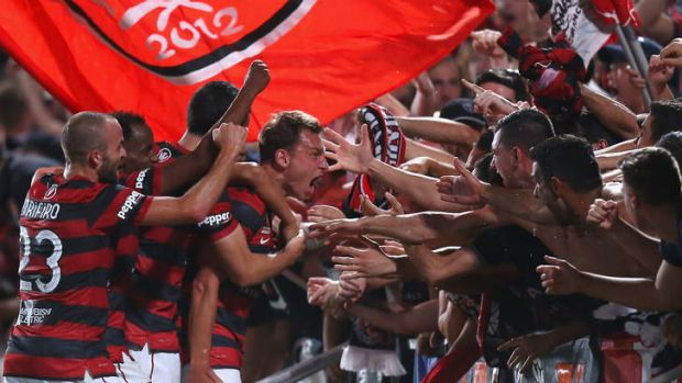 Lost that winning feeling: The Western Sydney Wanderers.