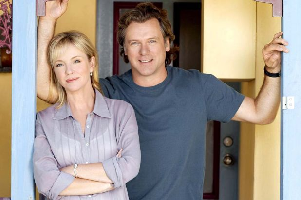 More than a soap: Rebecca Gibney and Erik Thomson in Packed to the Rafters.