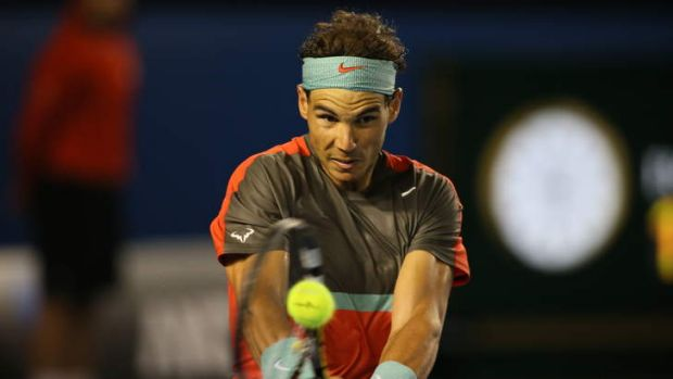 Nadal will go into the final as firm favourite.