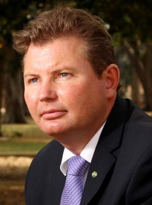 Speaking out: Federal Liberal MP Craig Laundy.