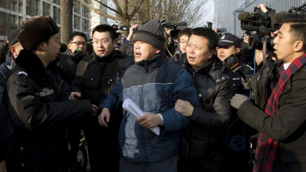 After the verdict: Zhang Qingfang, the lawyer for legal scholar and founder of the New Citizens movement, Xu Zhiyong, is ...