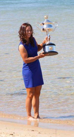 Australian Open champion Li Na.