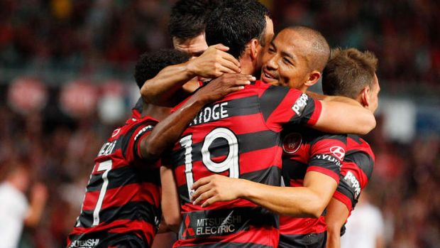 """I think in the first half we were outstanding in every aspect of our game"": Wanderers coach Tony Popovic."