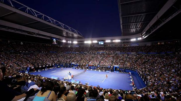 A large number of Rod Laver Arena patrons turned on Rafael Nadal after he took an injury timeout during the men's final.