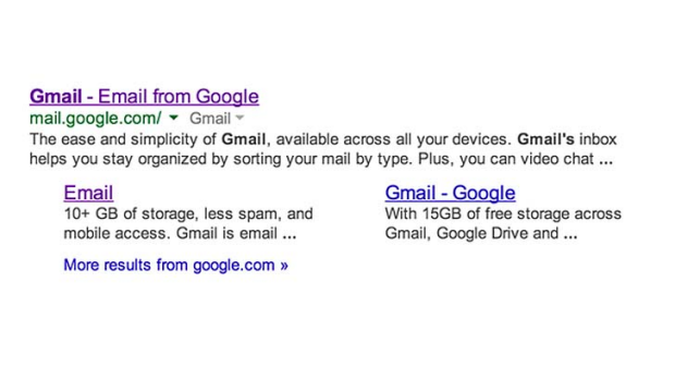 """A strange glitch that occured when users searched for """"Gmail"""" while logged into Google was causing one man to receive ..."""