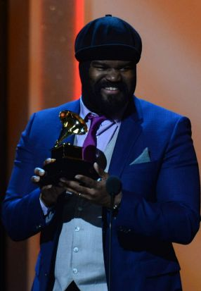 "Winner For Best Jazz Vocal Album ""Liquid Spirit"" Gregory Porter."