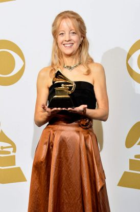 "Composer Maria Schneider, winner of the Best Contemporary Classical Composition for ""Schneider, Maria: Winter Morning Walks""."