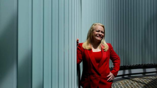 Rare form: Actress Jacki Weaver at The Star in Sydney on Monday.