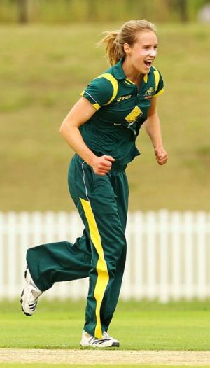 Ellyse Perry says she is just grateful to have the chance to bat higher in the order.