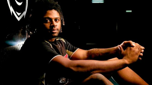 Sidelined: New Panther Jamal Idris.