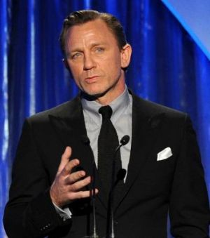 Private conversation: Actor Daniel Craig was asked by Jude Law on the phone about an alleged affair with Law's then ...