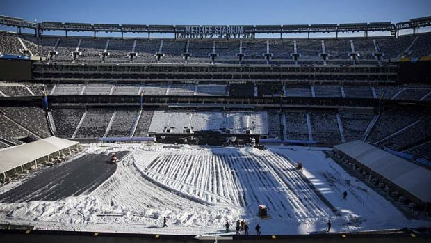 The Denver Broncos and Seattle Seahawks will face off in front of over 80,000 fans who will be issued Cold weather ...