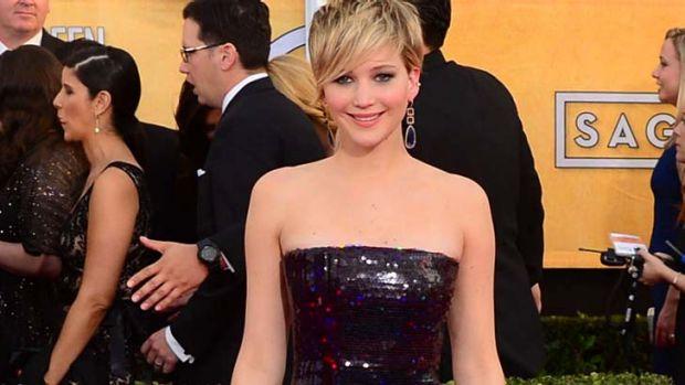 "Jennifer Lawrence talks about her supposed ""armpit vagina""."
