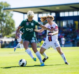 United's Michelle Heyman says Sydney FC's depth will be tested without Ellyse Perry.