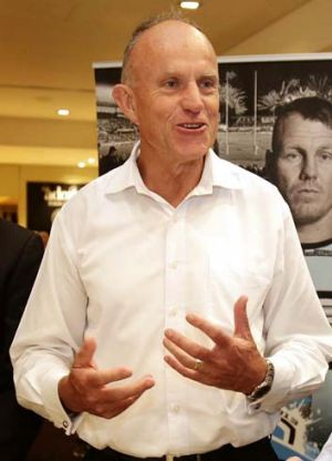 Cronulla chief executive Steve Noyce.