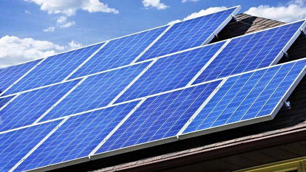 Decline in demand: Solar photovoltaic panels.