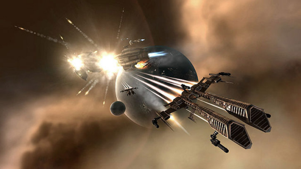 EVE of destruction: players can use real cash to upgrade their resources.