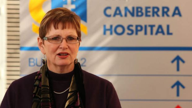 PRUNING THE LIST: ACT Health director-general Peggy Brown.
