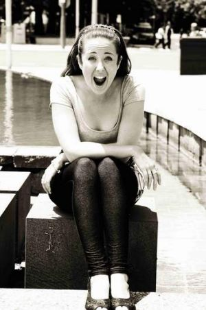 Amy Dunham: opening night performer and Fringe 2014 Creative Producer.
