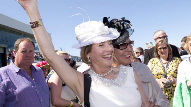 Optimistic: Gai Waterhouse believes an exciting season is ahead for Tulloch Lodge.