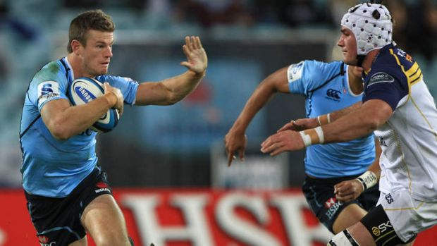 Ready to go: Rob Horne (left) says Waratahs coach Michael Cheika is right to aim for the Super Rugby final this year.
