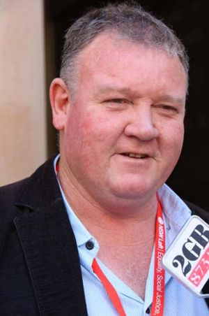 Accusations: Brian Parker denies criminal links in the building industry.