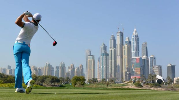 Plenty to aim for: Rory McIlroy has signalled his intent with a return to form in Dubai.