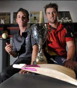 Queanbeyan's Dean Solway, left, and Tuggeranong's Shane Devoy will battle it out for the John Gallop Cup on Sunday in ...