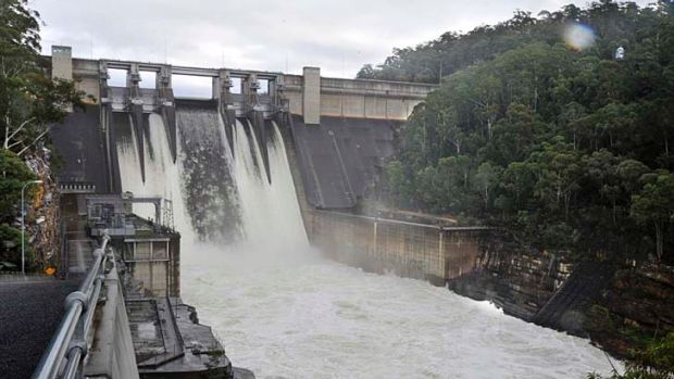 Sydney's Warragamba Dam: Almost $60 million has been spent on the dam during the past five years.