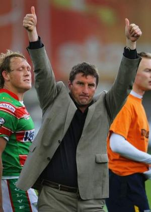 Tony Smith, coach of Warrington Wolves.