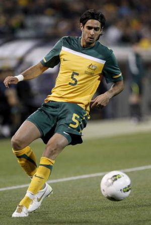 Deja vu: Socceroo Rhys Williams also missed the 2010 cup through injury.
