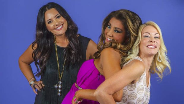 Janet Roach, Gina Liano and Lydia Schiavello are three of the six women who star in the new series <i>The Real ...