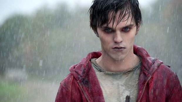Nicholas Hoult in the recent zombie film <em>Warm Bodies</em>.