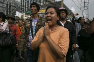 The Thai government imposed a 60-day state of emergency in Bangkok and the surrounding provinces in an attempt to cope ...