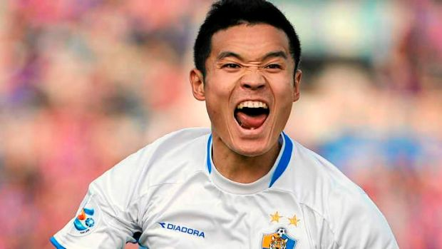 Coup: The Mariners have signed ACL-winning South Korean midfielder Kim Seung-yong.