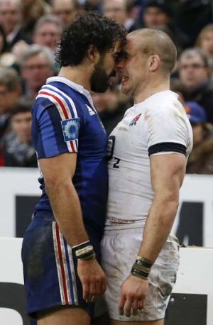 Yoann Huget and Mike Brown.