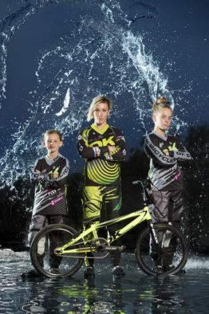 Olympic BMX rider Caroline Buchanan has recruited two rising BMX riders to her 'Next Gen' stable. Canberra's Mikayla ...