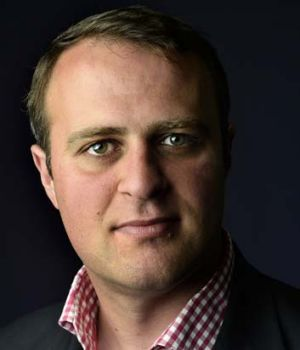 "Aims for ""almost total free speech"": New human rights commissioner Tim Wilson."