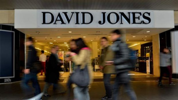 Under scrutiny: David Jones releases its results today.