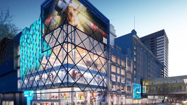 An artist's impression of The Emporium in Melbourne.