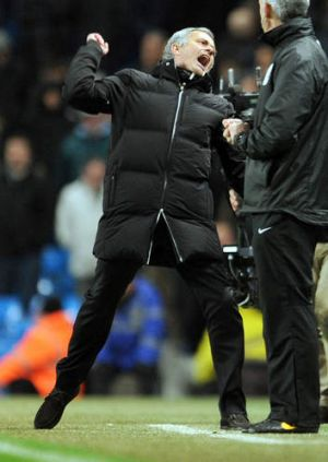 Understated charm: Chelsea's manager Jose Mourinho.