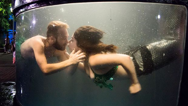 'Mermaids' is one of the free events to see at Fringe World that is also family-friendly.