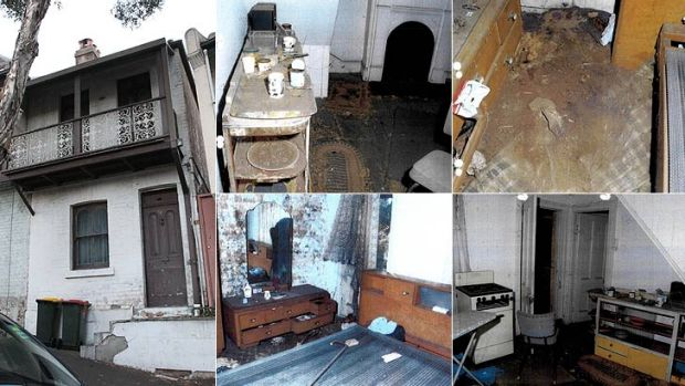 Solitary death: The exterior and interior of where Natalie Wood lived.
