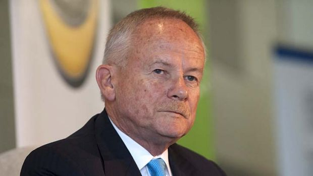 Under scrutiny: The ALP has challenged Tony Shepherd on his conflict of interest.