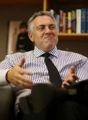 """The age of entitlement is over"": Treasurer Joe Hockey."