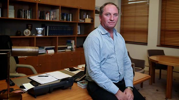 """The letter [from Barnaby Joyce] asks the premier to consider Mullaley group's request that the Liverpool Plains be ..."
