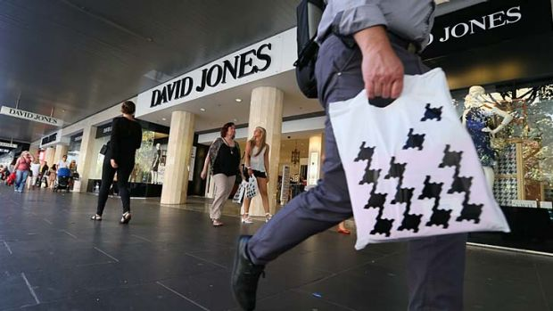 The battle for David Jones has taken a new twist.