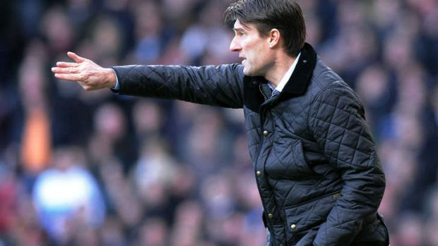 Angry at sacking: Michael Laudrup.
