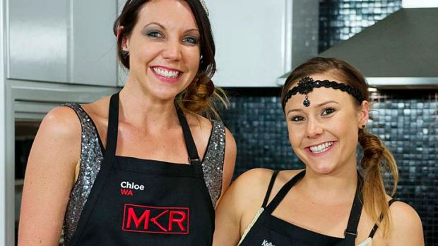 <i>My Kitchen Rules</i> contestants Chloe and Kelly get through to the grand finals.